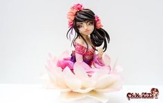 Lian -Lotus - Asian Style - Chocolate handmade girl by ChokoLate