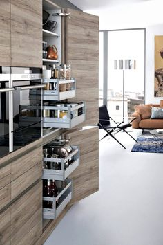 By finding inexpensive kitchen storage ideas, making things accessible, organizing by the type of items and getting rid of all the things you do not use, you may become the organization guru. For more ideas like this go to glamshelf.com #KitchenLayout #kitchenstorageideas #kitchenorganization #kitchendesign