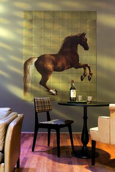IXXI wall decoration made with Stubbs' painting, 'Whistlejacket' of the National Gallery Museum ($244.20) #ixxi #ixxidesign