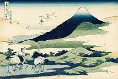 Hokusai - Vue du Mont Fuji
