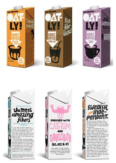 Oatly #packaging #packageDesign