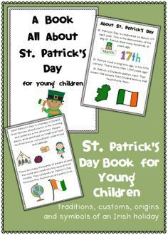 FREE St. Patrick's Day Book - customs, traditions, origins and symbols