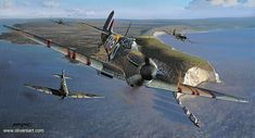 Richard Taylor has released a new aviation art print featuring Spitfire Mk1's of 19 Squadron RAF during the Battle of Britain. Description from ehangar.com.