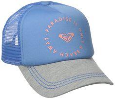 Roxy Junior's Trucking Trucker Hat, Morning Sky, One Size - http://todays-shopping.xyz/2016/06/08/roxy-juniors-trucking-trucker-hat-morning-sky-one-size/