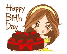 Dee Dee Girl 2 Cute Birthday Wishes, Happy Birthday Quotes For Friends, Happy Birthday Celebration, Happy Birthday Girls, Birthday Candy, Happy Birthday Images, Birthday Greetings, Happy Bird Day, Love Is Cartoon
