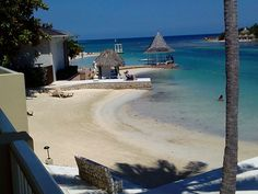 The Beach at Sandals Royal Caribbean, Montego Bay, Jamaica