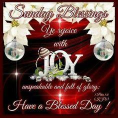 Marvelous Sunday Blessings!