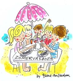 ♥ the summer Amsterdam Holidays, Amsterdam School, Blond Amsterdam, Amsterdam Netherlands, Wassily Kandinsky, Amsterdam Quotes, Vintage Tea Parties, Dutch Words, E Cards
