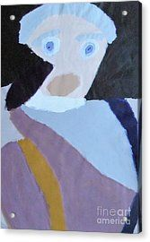 Acrylic Print featuring the painting Portrait Of A Lady 2014 by Patrick Francis