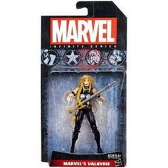 Marvel Avengers Infinite Series Valkyrie Figure - 3.75 Inches