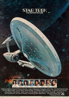 Movie poster for The Motion Picture (Star Trek I).