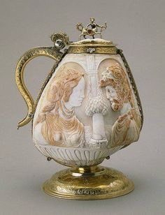 Cup made of two Mussel Shells, Germany, Neuremberg, late 16th century Hermitage Museum