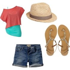 """""""Cruise Outfits2"""" by dealwithitfool-1 on Polyvore :: vacation outfit for me!! Pool or beach side"""