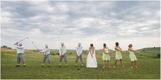 Mika & David | Seven Dolors Catholic Church | Manhattan Kansas | Joe R Geske Photography | Manhattan Kansas Wedding | Manhattan Kansas Wedding Photographer | Colbert Hills Golf Course | 1920's Golf Theme | Bridal Party Portraits