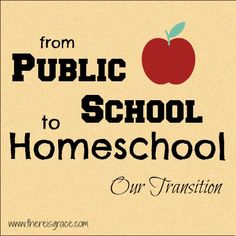 From Public School to #Homeschool: Why and How we Made the Move | www.thereisgrace.com