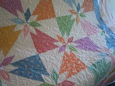 Ruby Blue Quilting Studio: Machine Quilting - 1930's Hunter Star.