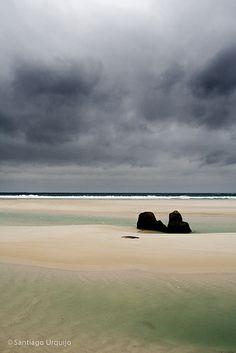 Praia de Carnota (A Coruña) por  Santiago Urquijo