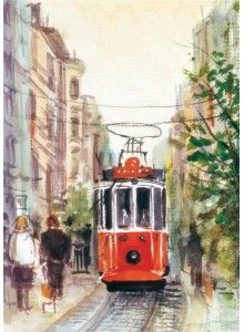 İstiklal Cad.Tramvay, 1000p Puzz puzzle