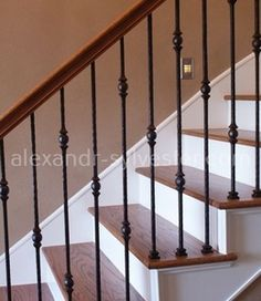 Кованые лестницы ручной работы - «Alexandr & Sylvester». #ковка #кузня #художественнаяковка #кованыелестницы #лестница #дизайн #alexandrsylvetser #кованаялестница #ковка #кованые #ковкавинтерьере