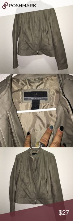 Bernardo Faux Leather Jacket for Women Brand New. NOTE: This listing is for 1 jacket only. Faux leather scuba style jacket. We are your one-stop shop for all your apparel needs. Whether looking for the latest fashion, staying warm in the winter, for an affordable gift, etc., we make sure you get the best quality at the best prices. Thank you for visiting our store!  Please make sure you are viewing all the photos. Any questions please let me know before you buy the product. Bernardo Jackets…