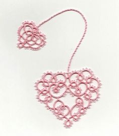 """Fancy"" tatted heart inspiration"