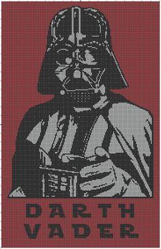 Free Stuff: Star Wars Darth Vader Crochet Afghan Pattern - Listia.com Auctions for Free Stuff