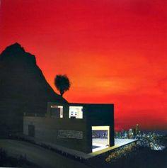 "Saatchi Art Artist Joffrin James; Painting, ""Kyrline View 3"" #art"