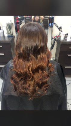 Golden Hair, Copper Hair, Brunette Hair, Long Hair Styles, Beauty, Beleza, Long Hair Hairdos, Cosmetology, Long Hairstyles