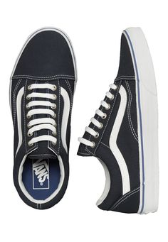 Order Vans - Old Skool Midnight Navy/True White - Shoes by Vans for £54.99 (8/15/2016) at Impericon UK.