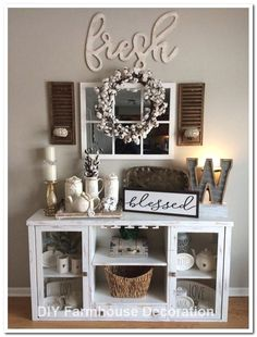 Farmhouse decor living room - 50 creative diy farmhouse home decor ideas and inspirations 3 – Farmhouse decor living room Country Farmhouse Decor, Rustic Decor, Modern Farmhouse, Modern Country, Farmhouse Ideas, Modern Boho, Rustic Design, Rustic Style, Modern Rustic