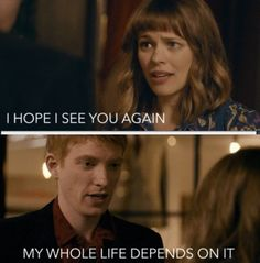 About Time (nov 2013 -one of the best films I've ever seen.