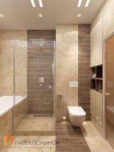 """Фото: Дизайн ванной комнаты - Интерьер квартиры в стиле прованс, ЖК """"Самоцветы"""", 100 кв.м."""