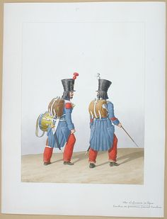 1828. Line Infantry.  Drum Grenadier Corporal Drum.
