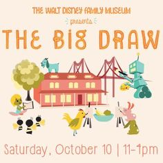 The WDFM presents The Big Draw! We had a day full of drawing and story activities - click through for more info!