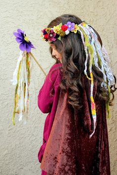 Beautifully Rooted: Fairy Costume 101: The Flower Wand