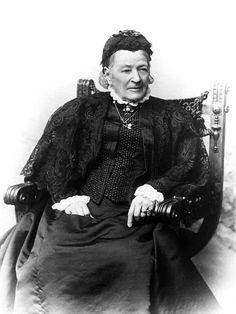 Aurora Karamzin vuonna 1900, kaksi vuotta ennen kuolemaansa.