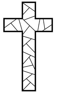 Make your world more colorful with free printable coloring pages from italks. Our free coloring pages for adults and kids. Easter Coloring Pages Printable, Easter Coloring Sheets, Easter Colouring, Cross Coloring Page, Coloring Pages For Kids, Kids Coloring, Cross Drawing, Stain Glass Cross, Mosaic Crosses