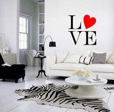.black and white modern decor living room