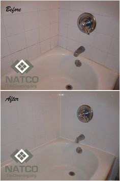 Before And After Regrouting And Recaulking A Shower