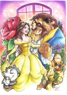 The Beauty and the Beast by ~DiosBoss
