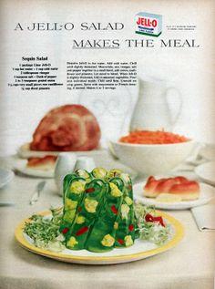 1955 Jello Sequin salad