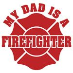 My Dad is a Firefighter Firefighter Decals, Firefighter Emt, Firefighter Wedding, Firefighter Quotes, Firefighters Wife, I Love My Hubby, Love You, Man Room, Fathers Day Cards