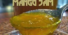 Mango Jam is a simple and easy recipe which can be eaten with paratha and bread on breakfast. This mango jam is so delicious. A simple p. Mango Jam, Recipe Steps, Jam Recipes, Simple Recipes, Marmalade, International Recipes, Chutney, Preserve, Jelly
