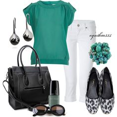 Summer Snappy Casual - Polyvore