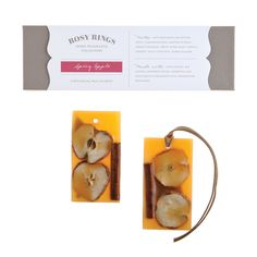 Rosy Rings Spicy Apple Botanical Wax Sachets