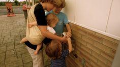 the sling diaries: rachael and family babywearing communication #sakurabloom