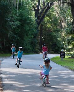 get out to your refuge Biking at Harris Neck