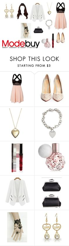 """""""Modebuy Style!!!"""" by tayler-dukes ❤ liked on Polyvore featuring Charlotte Olympia, Crislu, Tiffany & Co. and modebuy"""