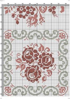 (102) Gallery.ru / Фото #6 - 12 - kento Cross Stitch Pillow, Cross Stitch Love, Cross Stitch Borders, Cross Stitch Flowers, Cross Stitch Designs, Cross Stitching, Cross Stitch Patterns, Embroidery Leaf, Cross Stitch Embroidery