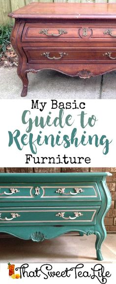 My Basic Guide to Refinishing Furniture Well! Ready to learn how to paint furniture? Want to paint furniture like a PRO? Want to learn the basics about painting furniture? Learn to paint furniture WELL for f. Diy Furniture Projects, Chalk Paint Furniture, Furniture Makeover, Salon Furniture, Furniture Cleaning, Automotive Furniture, Automotive Decor, Furniture Refinishing, Furniture Design